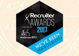 recruiter awards, 2017 awards, recruitment